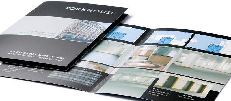 Letting brochure for London offices